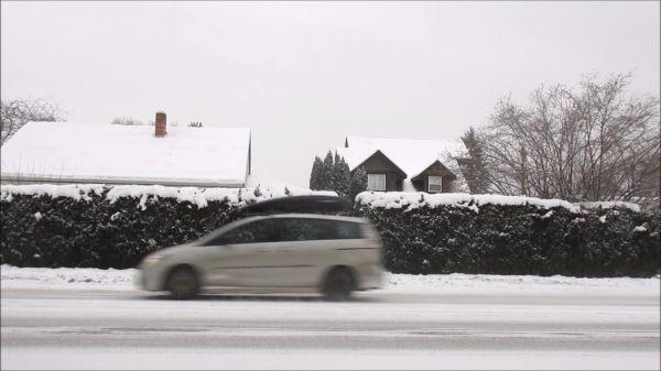 Winter  snow  cars video