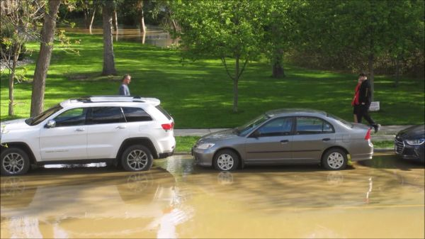 Flood  street  water video