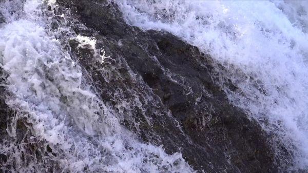 Waterfall  water  liquid video