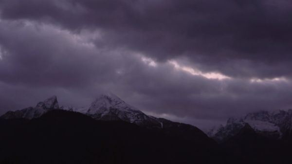 Watzmann  time lapse  mountains video