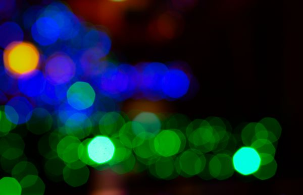 Blurred lights photo