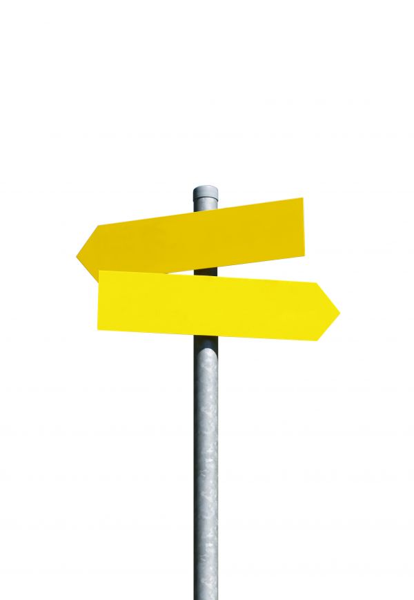 Yellow Signpost photo