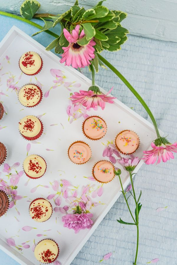Cupcakes & Flowers photo