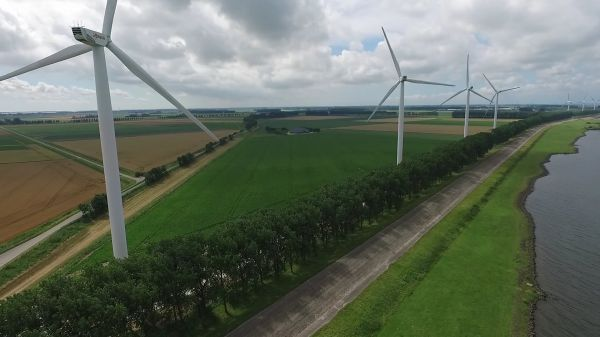 Wind mill  energy  wiek video