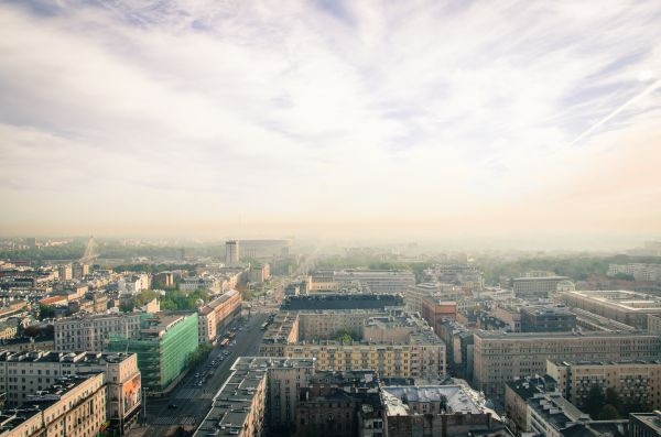 Downtown Warsaw photo
