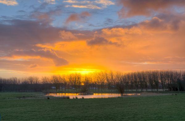 Early sunrise photo