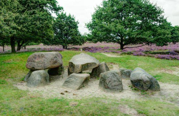 Dutch dolmen photo