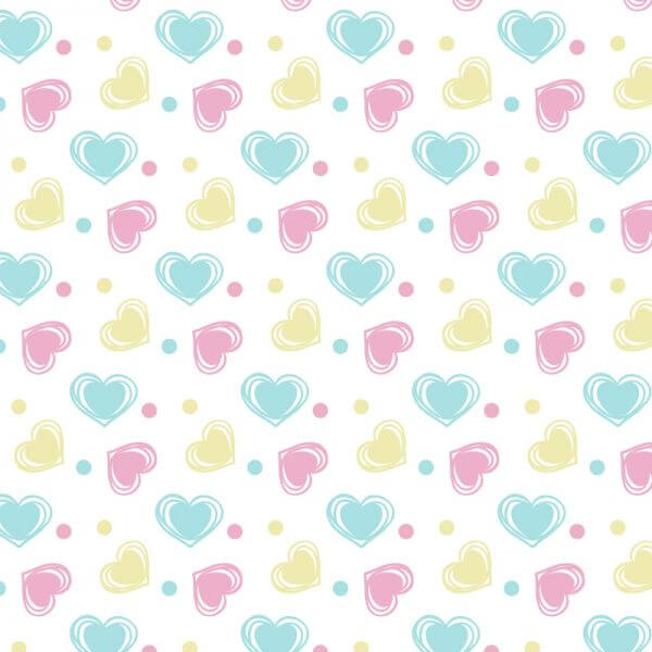 Love pattern vector