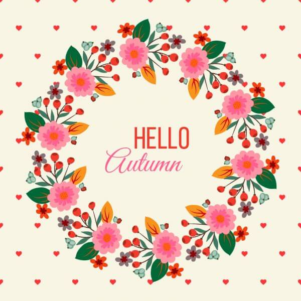 Floral Frame Illustration vector