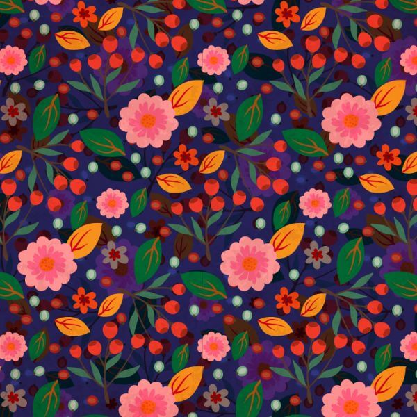 Flora Nature Pattern vector