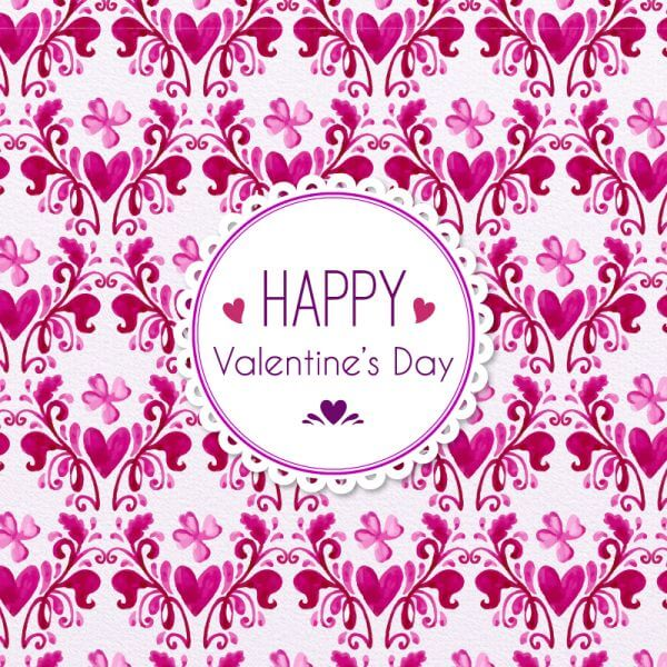 Romantic Floral Pattern vector
