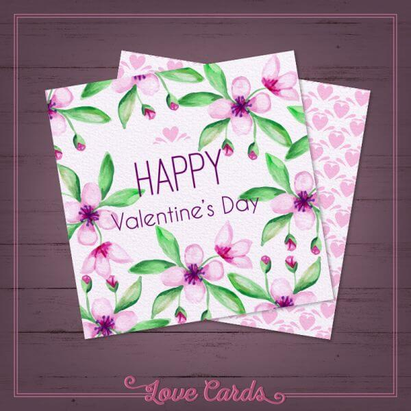 Valentine's Day Cards vector