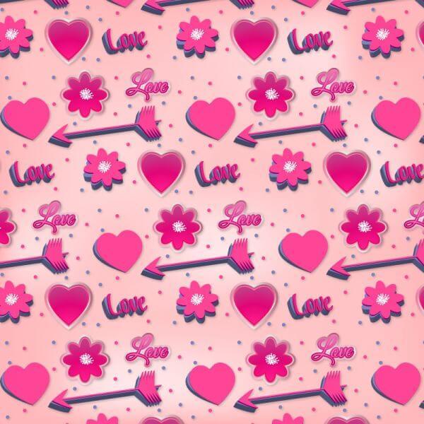 Romantic Pink Pattern