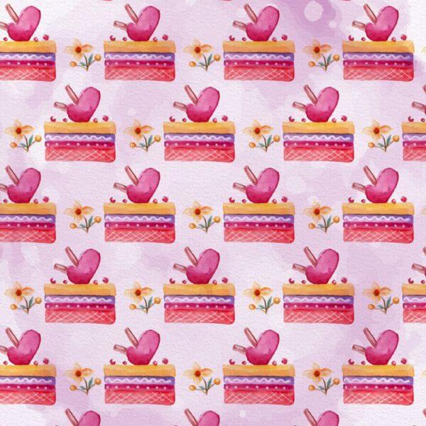 Cute Valentine's Day Pattern vector