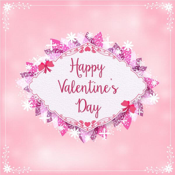 Valentine's Day Illustration vector