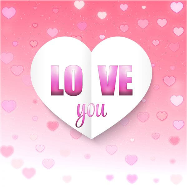 Valentine's Day Illustration vector