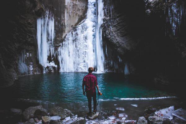 Waterfall vibes. photo