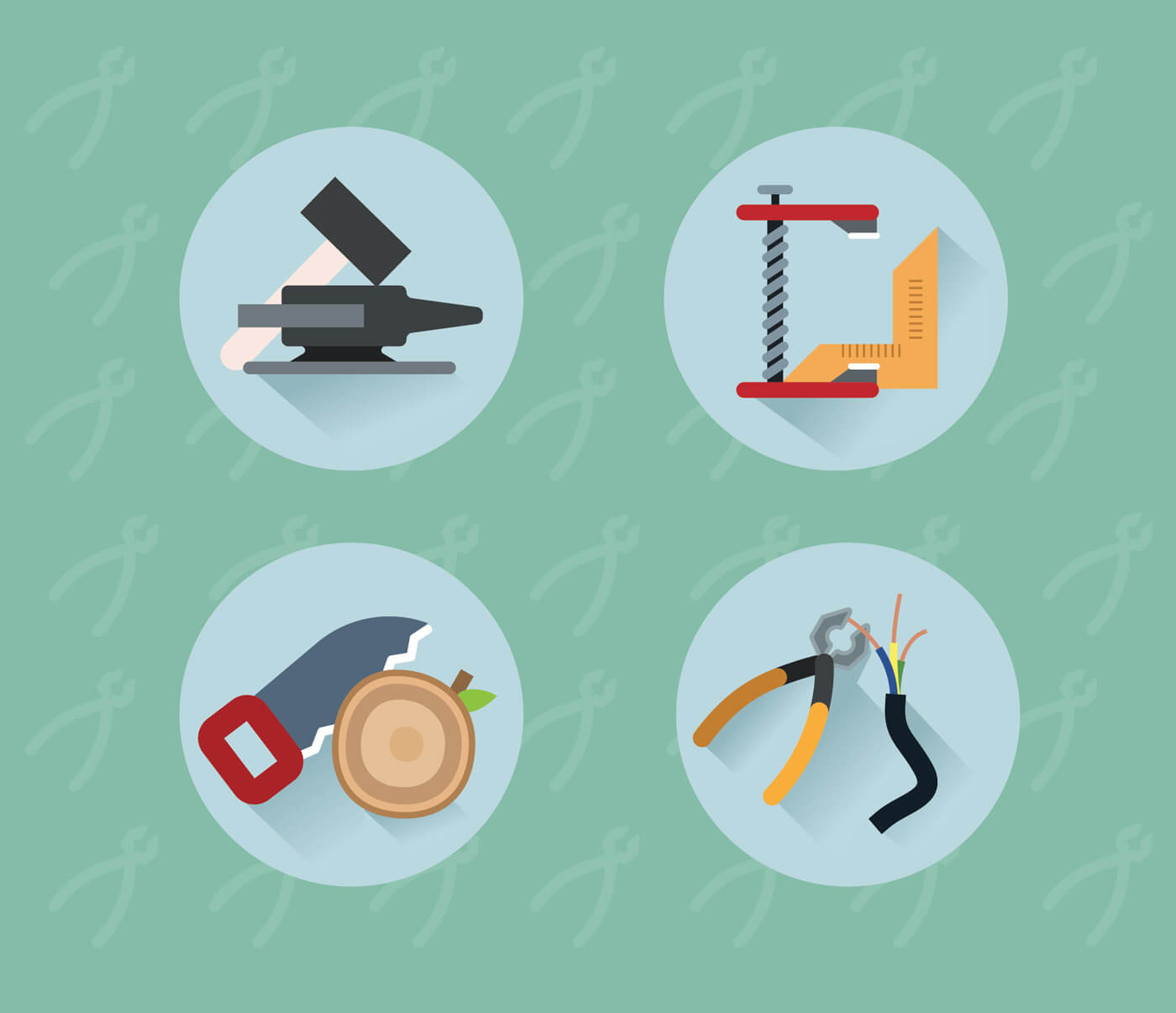 "Free vector ""Tools objects for design. Vector illustration"""