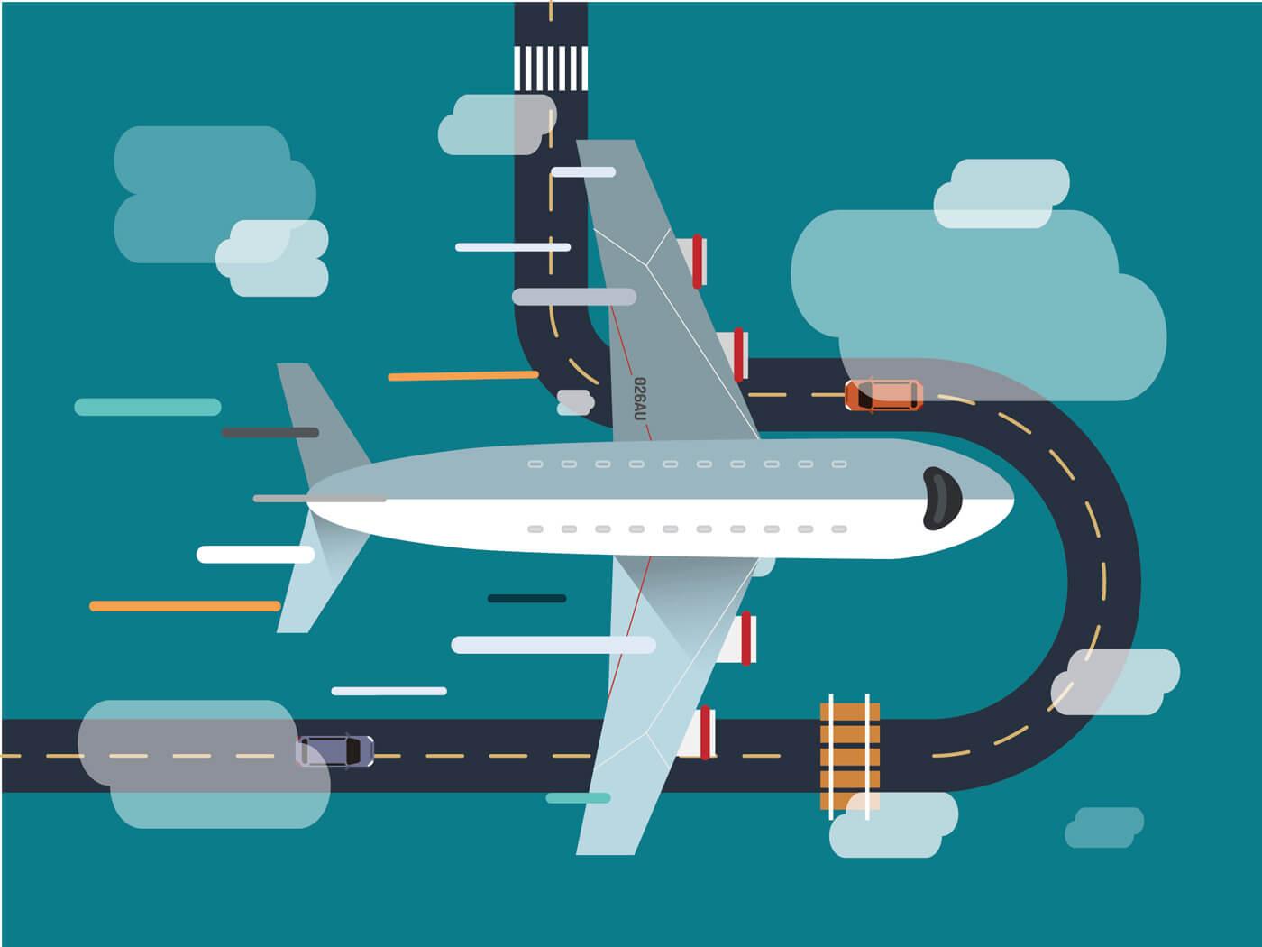 "Free vector ""Transport objects vector illustration for design"""