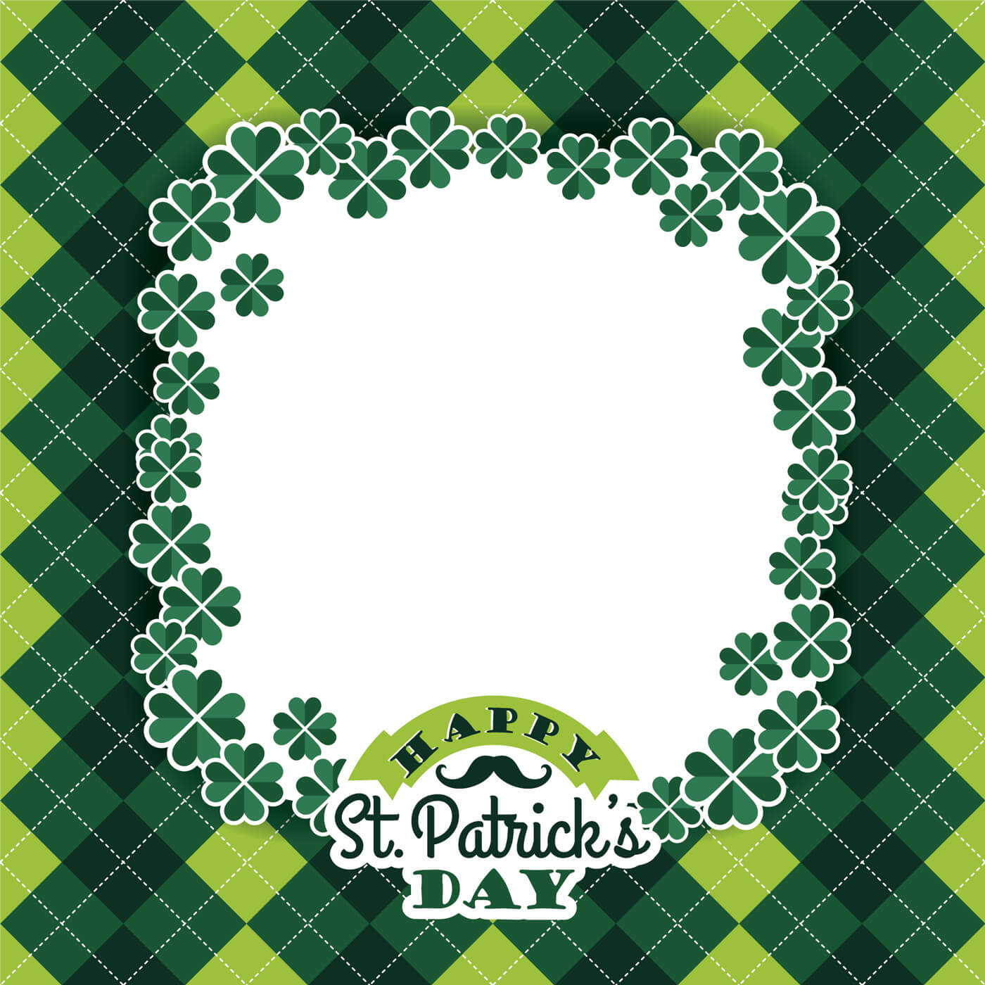 "Free vector ""Saint Patricks Day baskground. Vector illustration"""