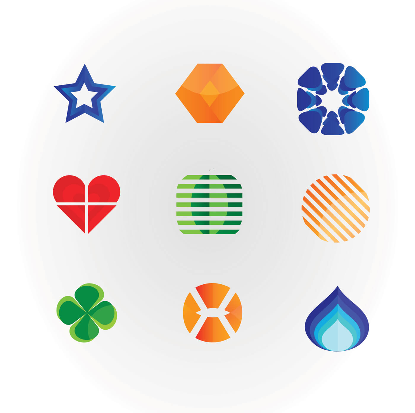 """Free vector """"Set of hight quality vector icons. Free Vector Illustration Design."""""""