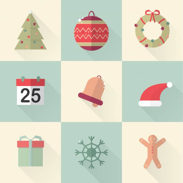xmasicons 01 vector
